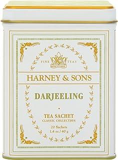 Harney & Sons Black Tea, Darjeeling, 20 Sachets