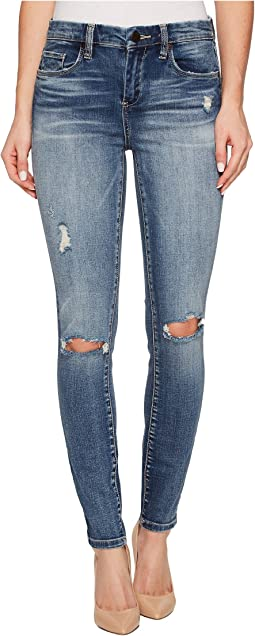 Mid-Rise Denim Skinny in Wealth Care