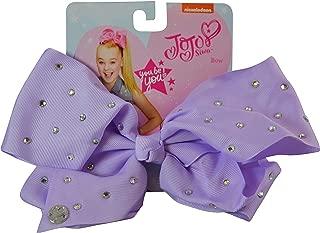 JoJo Girls Siwa Signature Collection Lavender w/Rhinestones Hair Bow