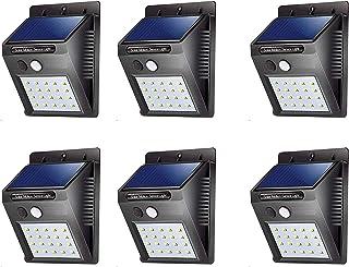 ASGTRADE Solar Sensor Motion Wall Mounted LED Light for Garden, Park, Balcony, Outdoor Living (6)