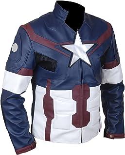 Flesh & Hide F&H Men's Superhero America Captain Fight Suit Jacket