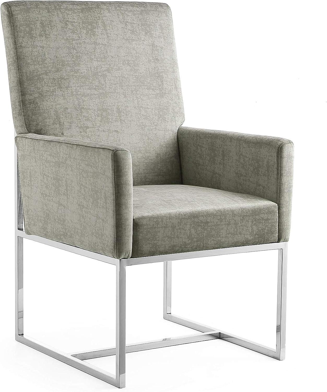 Manhattan Comfort Element Mid Velvet Regular store Upholstered Surprise price Century Modern