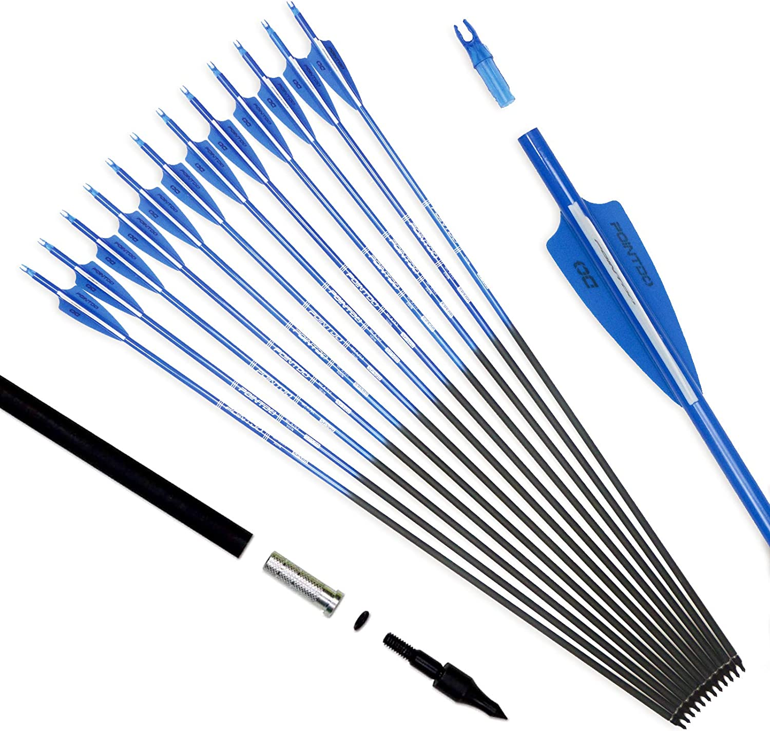 Our shop OFFers the best service Pointdo Max 69% OFF 30inch Carbon Arrow Fluorescence Color and Pra Targeting