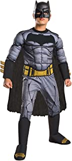 Rubie's Costume: Dawn of Justice Deluxe Muscle Chest Batman Costume, Large