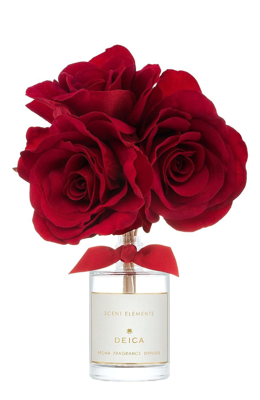 花瓶ズームインする知り合いDEICA セントエレメンツ アロマフレグランスディフューザー エタニティ(リードディフューザー)