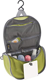 (Small, Lime Green) - Sea to Summit TravellingLight Hanging Toiletry Bag