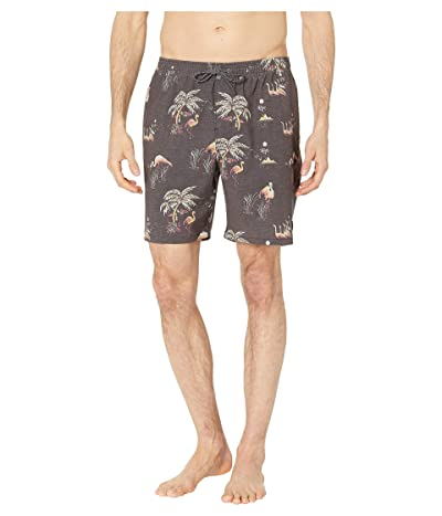 Rip Curl Del Boca Volley Swim Shorts (Black) Men