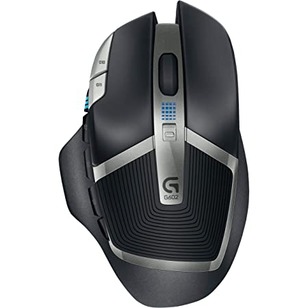 Logitech G602 Wireless Gaming Mouse with 250 Hour Battery Life (910-003930)