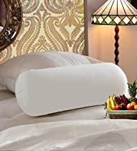 JDX Hotel Polyester Blend Soft Reliance Fibre Bolester, 13x28, White