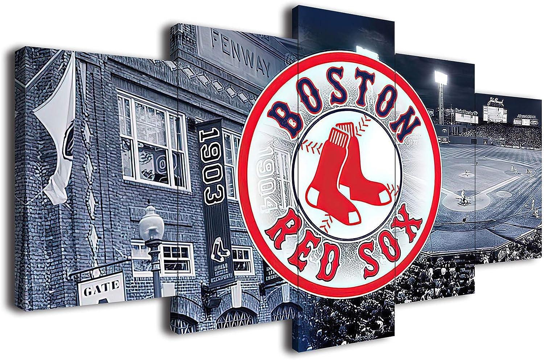 Xirokey Boston Red Sox Baseball Poster 即出荷 De Wall Prints Canvas 倉庫 Art