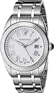Men's VFE040013 V-Spirit Analog Display Quartz Silver Watch