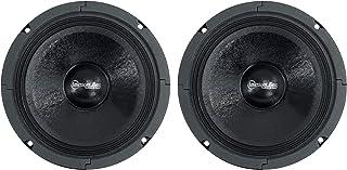 """$44 » 2 American Bass SQ65CB-X 6.5"""" Midrange Car Audio Speakers 300W Max 8 Ohm Midbass"""
