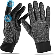 HOOMIL Winter Gloves for Men and Women, 2020 Classic Style Touchscreen Running Gloves Outdoor Sports Driving Cycling Windp...