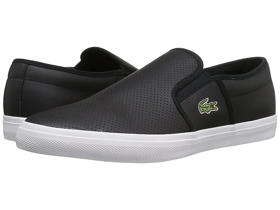 Lacoste Gazon BL 1 Cam (Black) Men