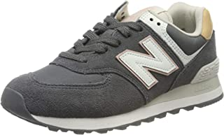 New Balance 574 Womens Grey/Ivory Trainers