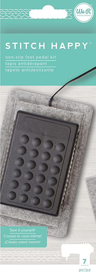 American Crafts We We R Memory Keepers Stitch Happy 7 Piece Foot Pedal Kit