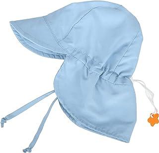 UPF 50+ UV Ray Sun Protection Baby Hat w/Neck Flap &...