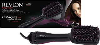 Revlon Perfectionist Paddle Thermal Brush Hair Dryer - RVHA6475ARB, Black
