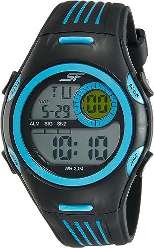 SF Digital Grey Dial Men's Watch NM77072PP02A/NN77072PP02