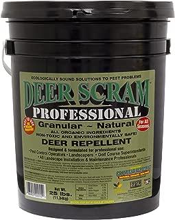 EPIC Deer Scram Professional Grade 25lbs. Granular Deer Repellent Industry Leader