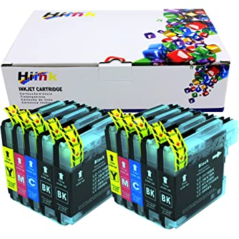 Toner Clinic Compatible Inkjet Cartridge for Brother LC-61 LC-65 DCP-395CN DCP-585CW DCP-J125 MFC-250C MFC-255CW MFC-290C MFC-295CN MFC-490CW MFC-495CW MFC-J270W MFC-J415W MFC-J615W MFC-J630W