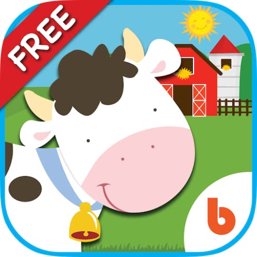 Animal Friends - Free Games to Learn Animal Names  Sounds  Counting For Baby and Toddler
