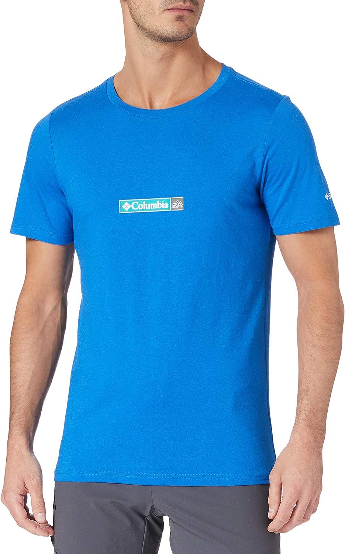 Columbia Rapid Ridge II Camiseta estampada para hombre