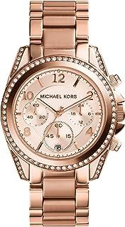 Michael Kors Orologio Cronografo Quarzo Donna con Cinturino in Acciaio Inossidabile MK5263