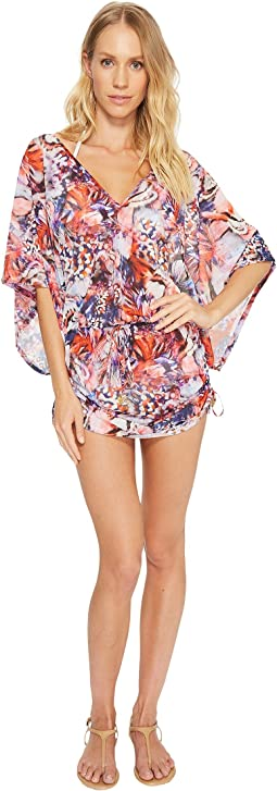 Cienfuegos Cabana V-Neck Dress Cover-Up