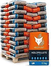 HEIZFUXX Holzpellets Blue Heizpellets Nadelholz Wood Pellet Öko Energie Heizung Kessel..