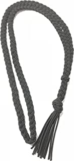 neck rope horse tack bridleless riding black
