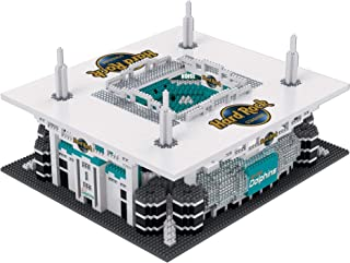 FOCO NFL Miami Dolphins 3D BRXLZ Stadium Building Block Set3D BRXLZ Stadium Building Block Set, Team Color, One Size