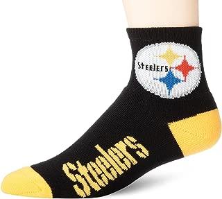 For Bare Feet Adult NFL Crew Socks