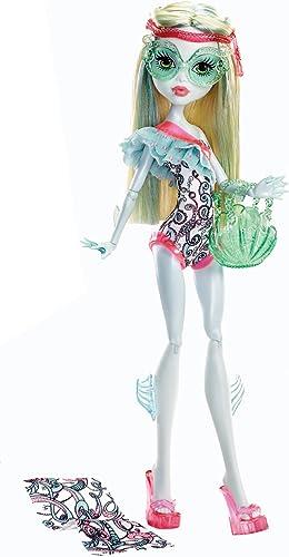 Monster High Swim Class - En Maillot De Bain Serie ASST. Y7302 Poupée Doll Y7305 Lagoona bleu