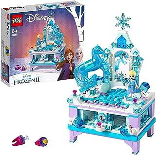 LEGO 41168 Disney Princess Elsas smyckeskrin, Frost Leksak, Elsa Minidocka, Byggklossar för Barn