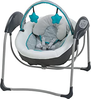 Graco Glider Lite Baby Swing, Finch