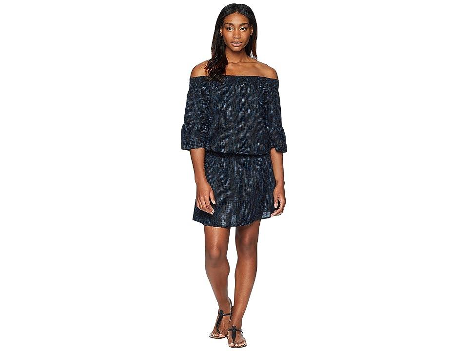Prana Lenora Dress (Black Sprinkle) Women