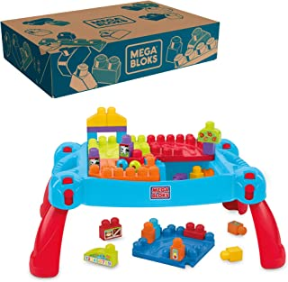 Mega Bloks First Builders Build 'n Learn Table [Amazon Exclusive], Classic