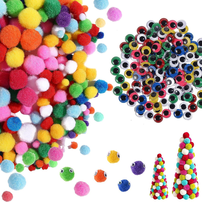WELLVO 700 Pcs Ranking TOP13 Craft Supplies Including Max 81% OFF Materials 250 Balls