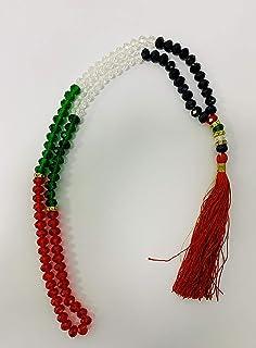 UAE Flag color tasbeeh (prayer beads)