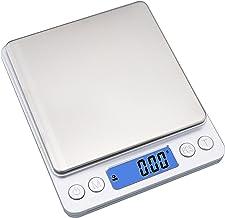 ميزان طعام المطبخ الرقمي من شركة إيوولي، 500 جرام - موازين مجوهرات كهربائية متعددة الوظائف بوزن 0.01 جرام - موازين رقمية ا...