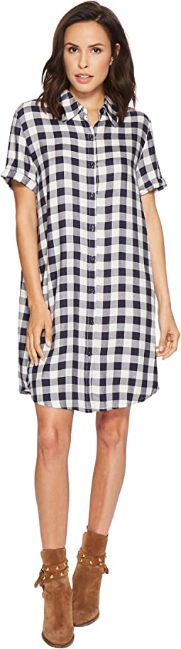 BB Dakota - Cicely Plaid Shirtdress