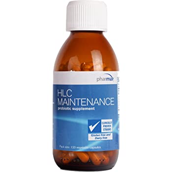 Pharmax - HLC Maintenance - Long-Term Maintenance Probiotic Formula to Support Digestive Health - 120 Capsules