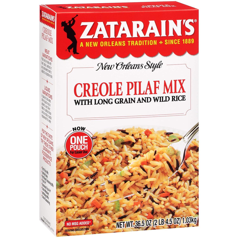 Zatarain's Creole Chicago Mall Pilaf oz 36.5 Mix Columbus Mall