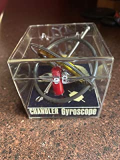 Vintage Chandler Gyroscope Precision Balanced Top In Case