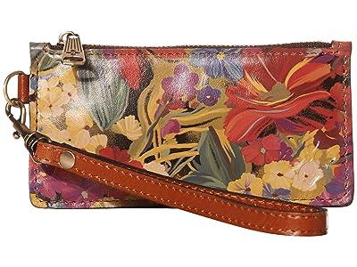 Patricia Nash Almeria Wristlet (Citrus Sunrise) Wristlet Handbags
