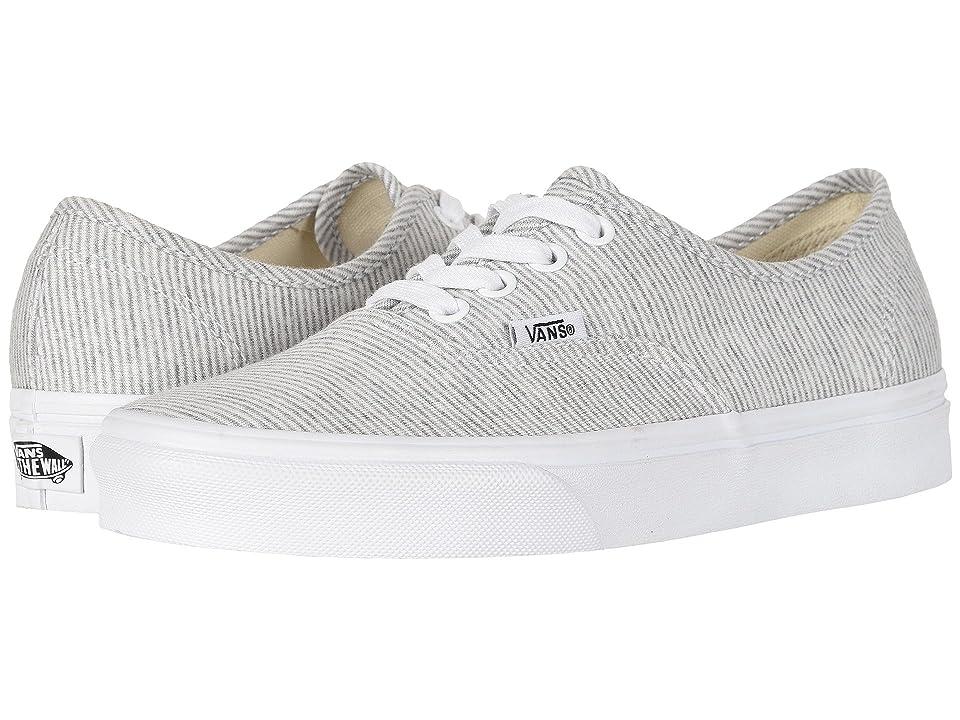 Vans Authentictm ((Jersey) Gray/True White) Skate Shoes