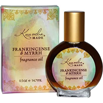 Kuumba Made Fragrance Oil, Frankincense & Myrrh, 0.5 oz (14.7 ml)