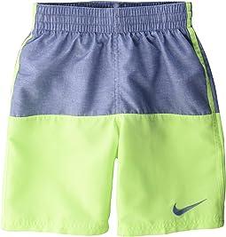 "8"" Linen Split Volley Shorts (Little Kids/Big Kids)"