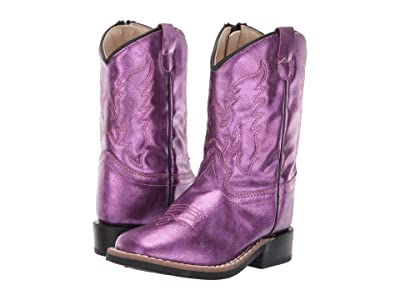 Old West Kids Boots Gina (Toddler) (Shiny Pink) Cowboy Boots